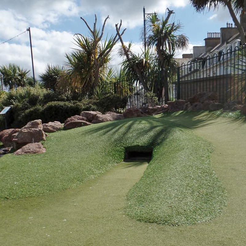 Try for a 'hole in one' on our perfectly manicured greens