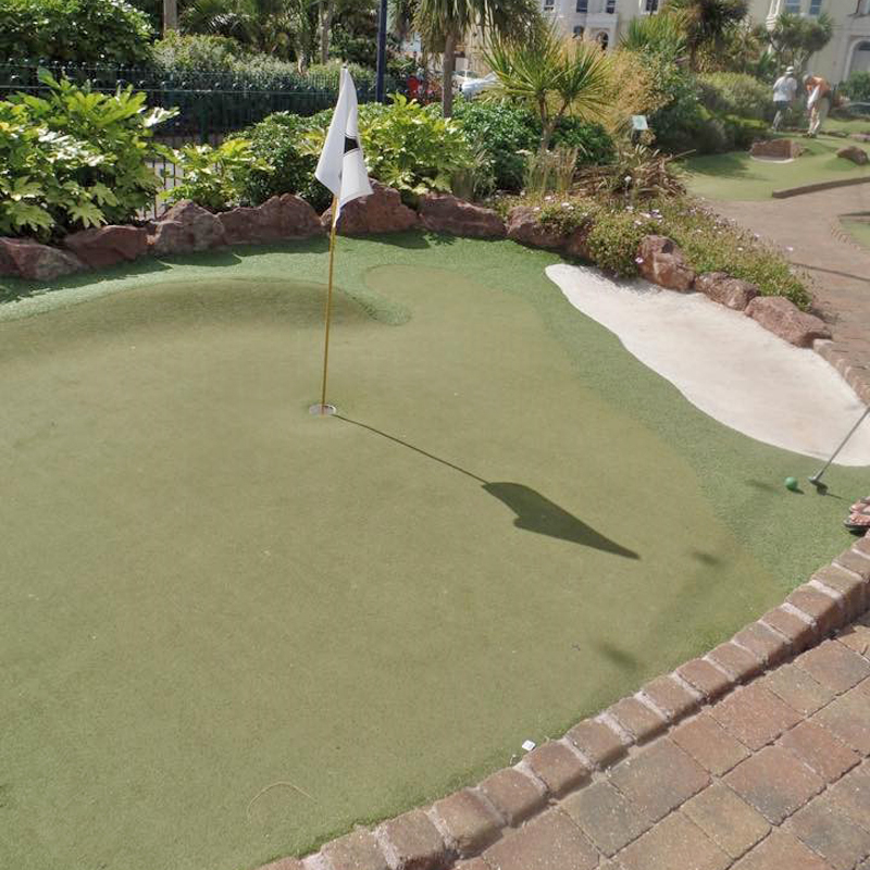 Try for a 'hole in one' on our beautifully landscaped course